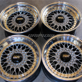 BBS rs porsche gold gunmetal black