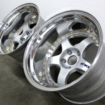 work meister s1 wheels gold rebuild drift s13 s14