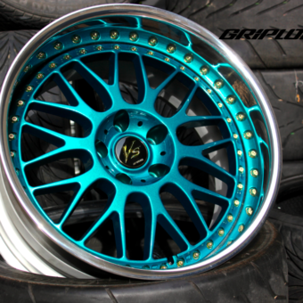 Work vs-xx teal gold dc2 dc5 jdm wheels s13 s14 subaru wrx stance
