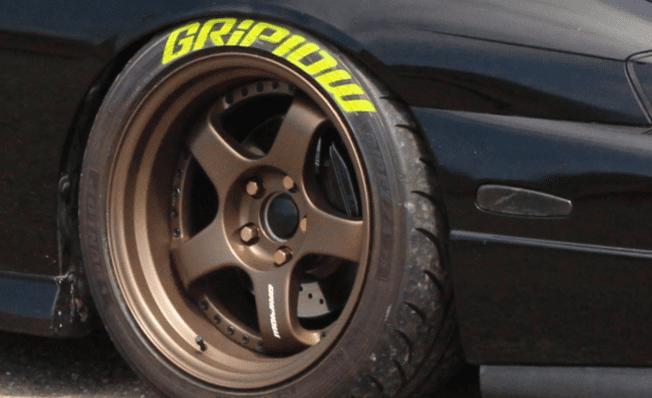 Griplow Tire stencil