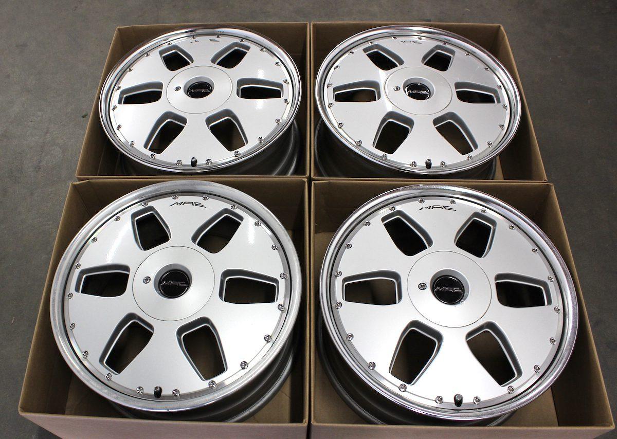 18 Quot Mae Crown Jewel 4 5x100 Griplow Jdm Super Wheels