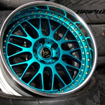 Work vs-xx teal gold dc2 dc5 jdm wheels s13 s14 subaru wrx stance